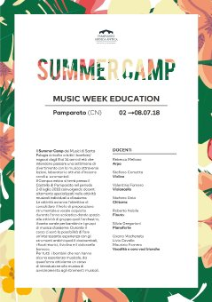 Pamparato Summer Camp - (music week education - 1)