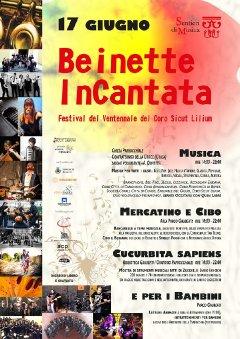 2018.06.17 - Beinette InCantata, Festival del Ventennale - Locandina